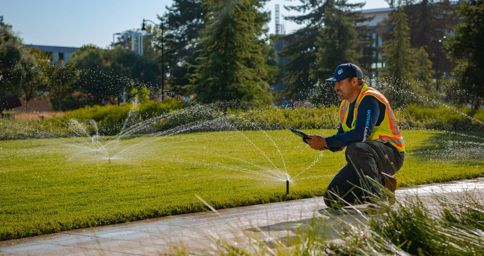 Water and Irrigation Management Services provided by Gothic Landscape.